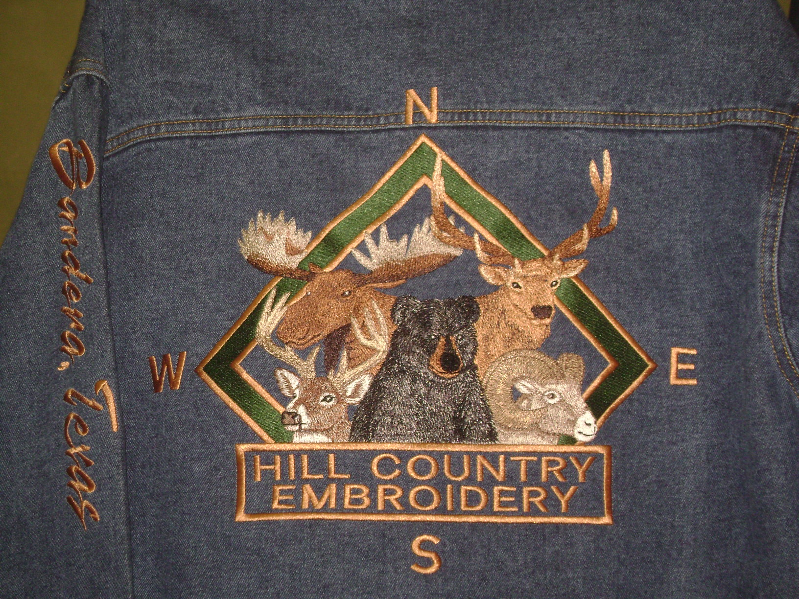 Hill Country Embroidery Bandera Texas Custom Embroidery